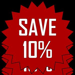 Giảm giá đặc biệt bằng tiết kiệm đến 10% năng lượng khí nén