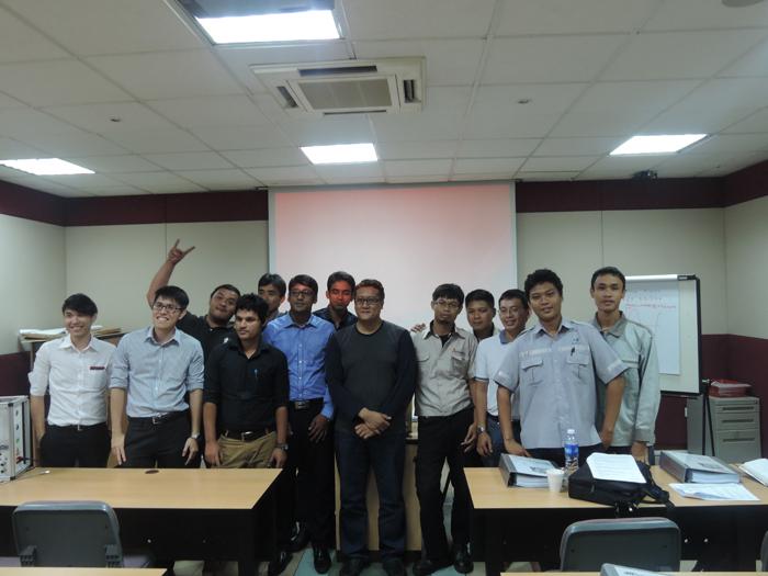 Tập huấn kỹ thuật tại Singapore